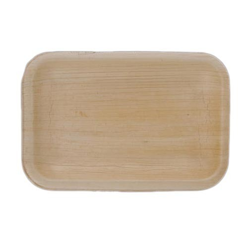 Rectangular Areca Leaf Plate
