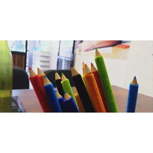 Velvet Polymer Colored Pencils