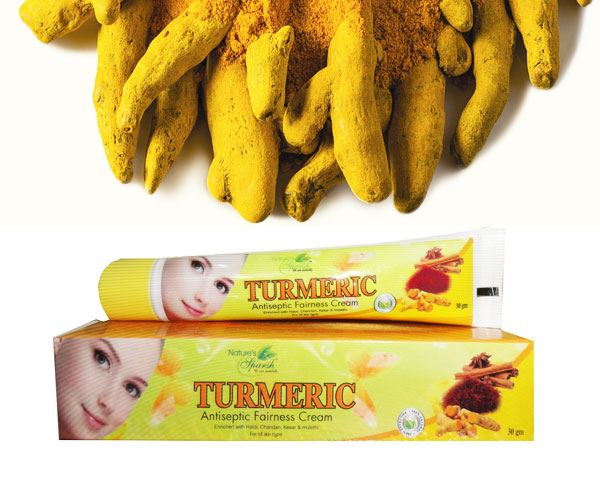 Nature\'s Sparsh Turmeric Cream