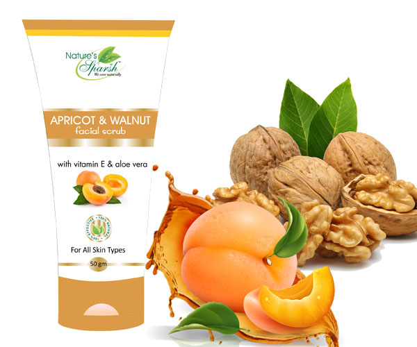 Nature\'s Sparsh Apricot & Walnut Face Scrub