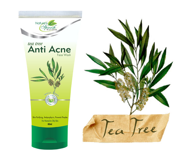 Nature\'s Sparsh Tea Tree Anti Acne Face Wash