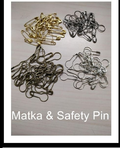 Matka Safety Pins