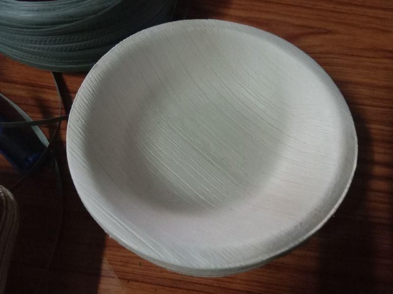 6 Inch Areca Leaf Round Plate