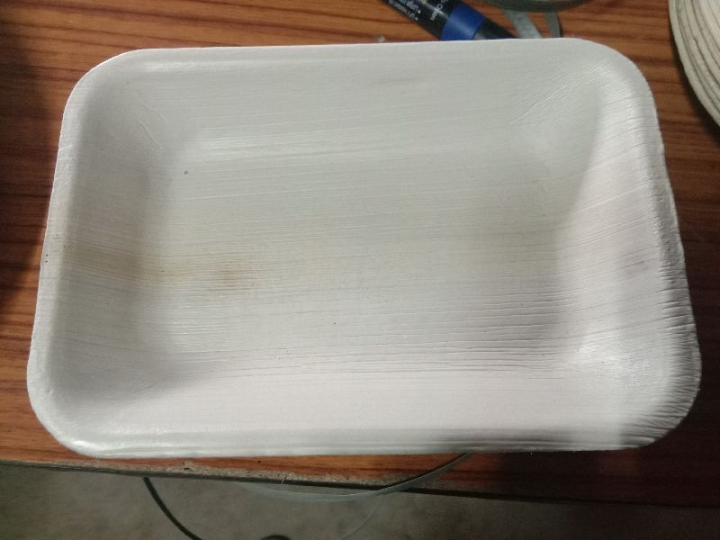 Areca Leaf Rectangle Plate