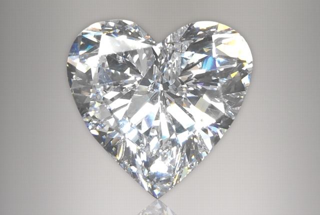 Heart Shaped Loose Diamonds
