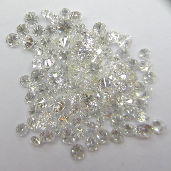 Real White Loose Diamonds