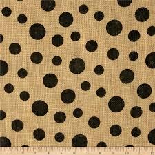Printed Jute Fabric