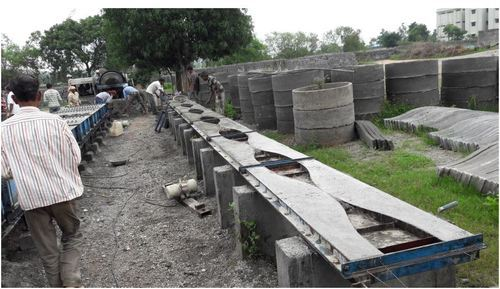 Precast Compound Wall Die