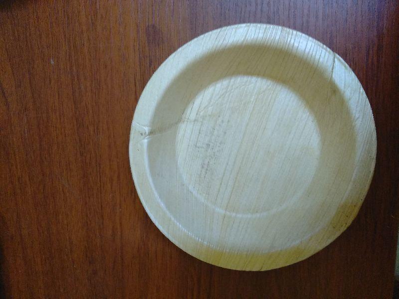 6 Inch Round Areca Leaf Plate