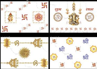 Pooja Room Digital Wall Tiles