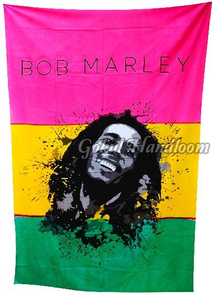 Bob Marley Cotton Wall Hanging Tapestry
