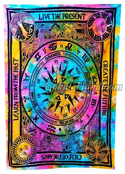 Create the Future Art Cotton Wall Hanging Tapestry