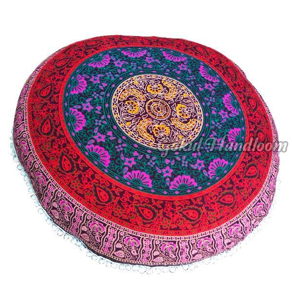 Six Colour  Mandala Cushion Cover