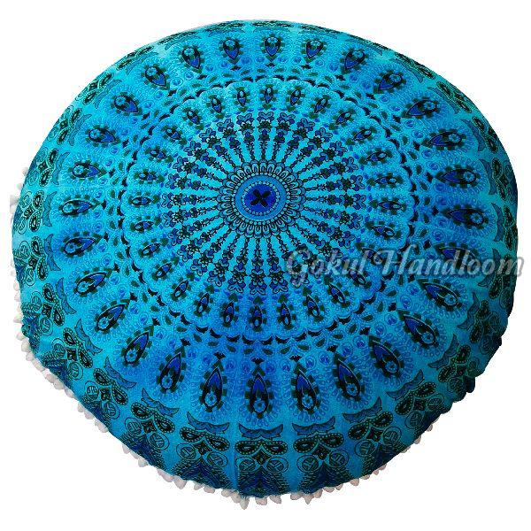 Tie Dye Mandala Cushion Cover