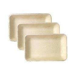 Areca Leaf Rectangle Plates