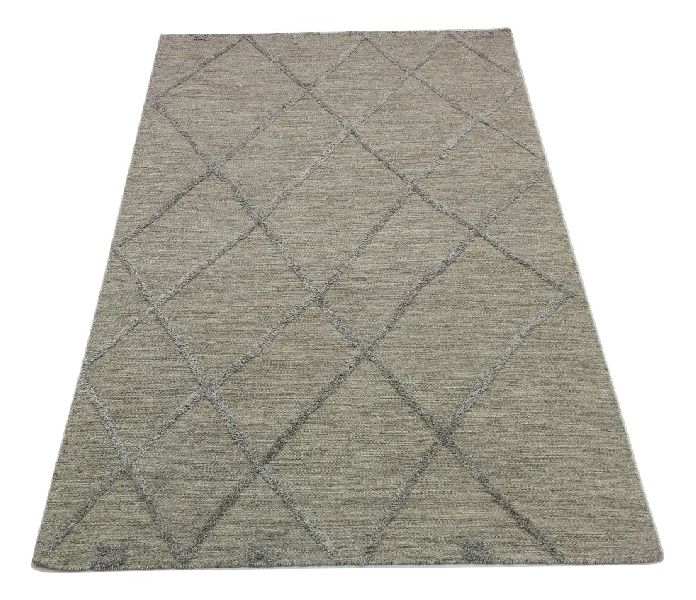 Hand Woven High Low Pile Textured Rugs'
