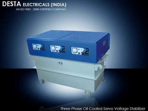 50 KVA Three Phase Servo Voltage Stabilizer
