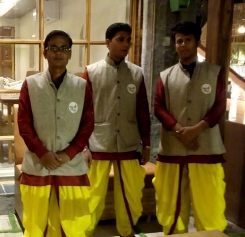 Fancy Catering Uniform