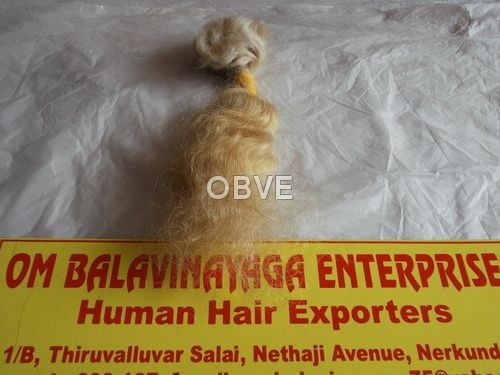 Natural White Human Hair