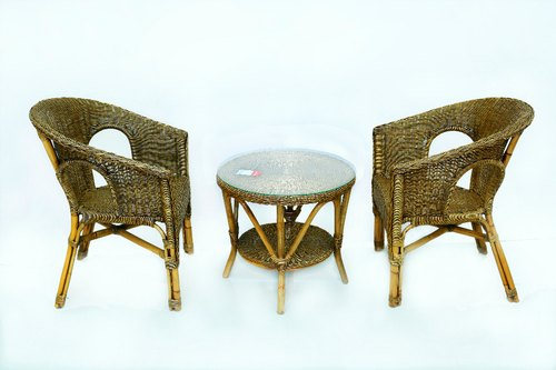 Bamboo Table Chair Set