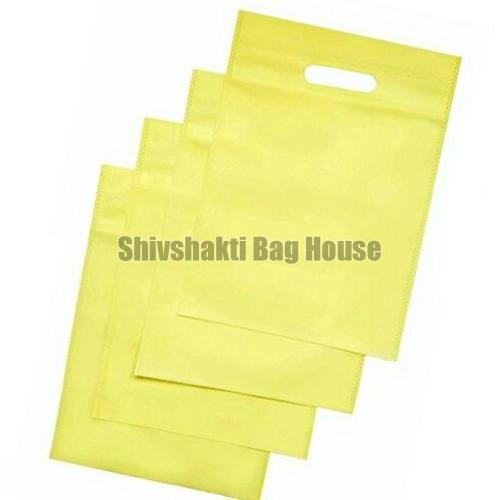 Plain D Cut Non Woven Bag