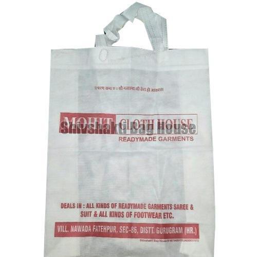 Loop Handle Printed Non Woven Bag