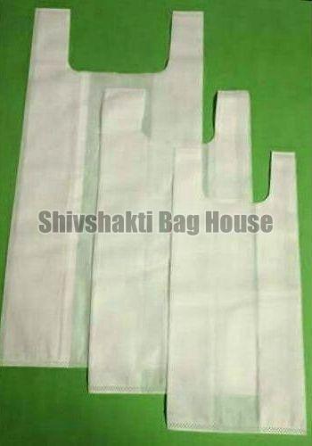 Plain U Cut Non Woven Bags