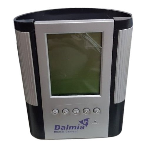 Digital Table Clock with Pen Stand