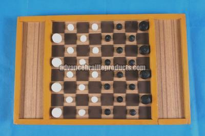 Draught Board with side box Item Code: 20107