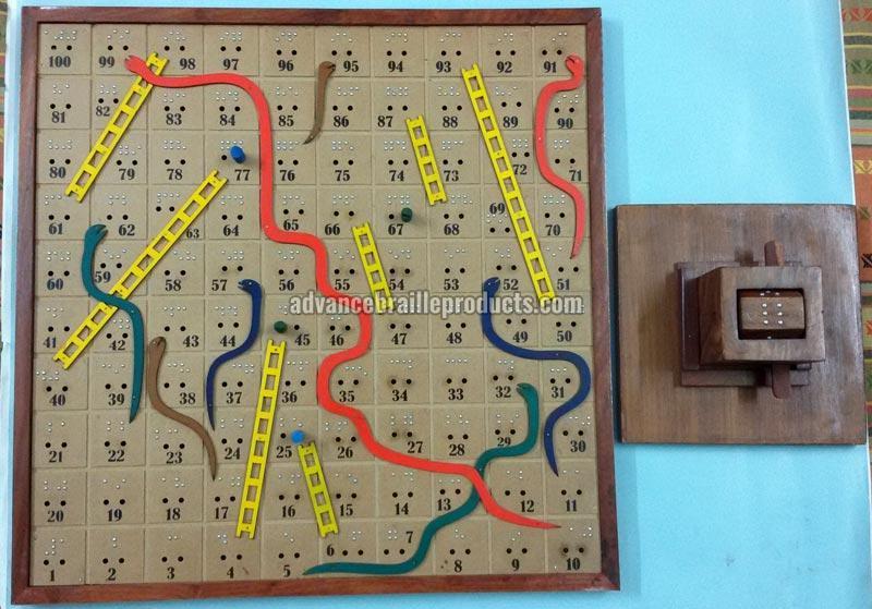 Snake & Ladder Board Game Item Code : 20111