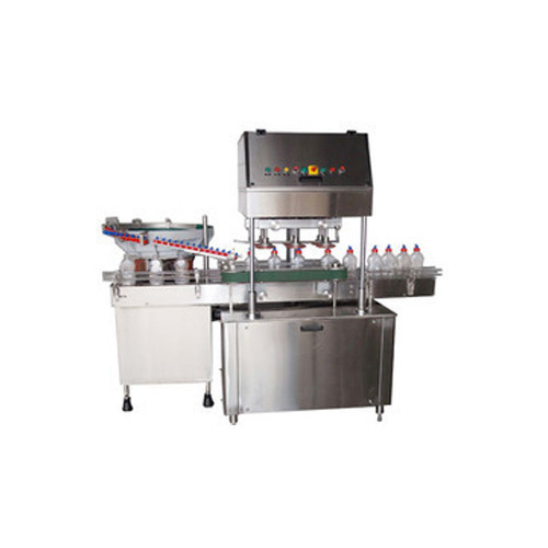 Linear Bottle Capping Machine