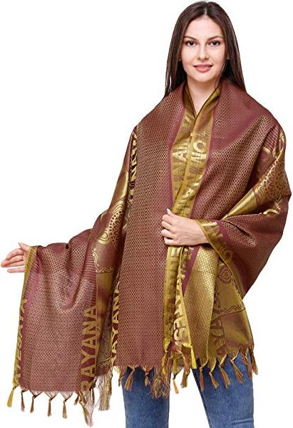 Ladies Silk Shawl