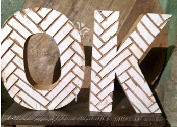 Wooden Alphabets