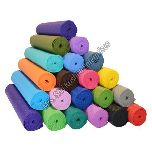 Solid Yoga Exercise Mat