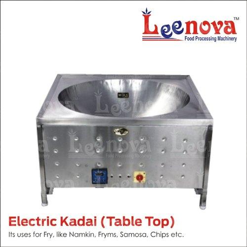 Table Top Electric Kadai