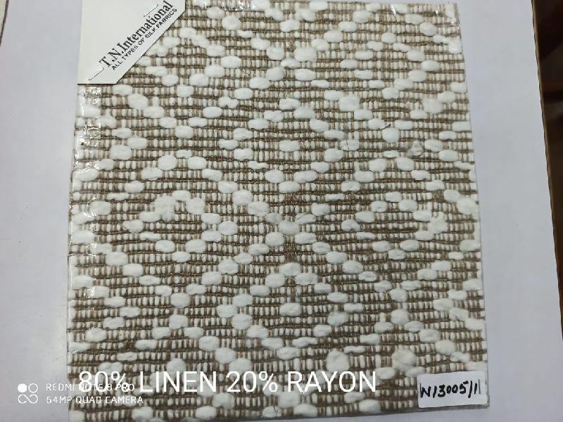 Rayon Linen Fabric