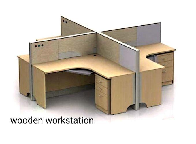 Wooden Workstation