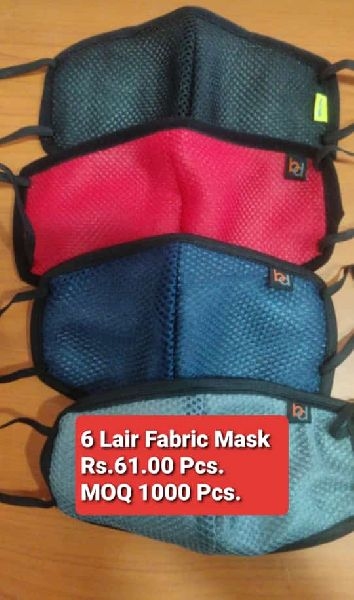 6 Layer Face Mask