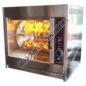 Chicken Rotary Grill Barbecue