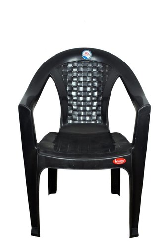Black Plastic Tent Chair