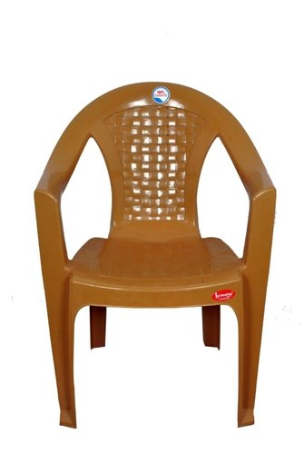 Brown Plastic Tent Chair