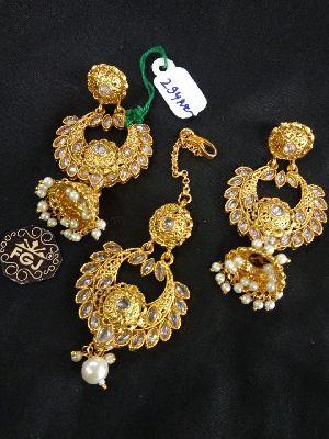 Gold Necklaces Set 18