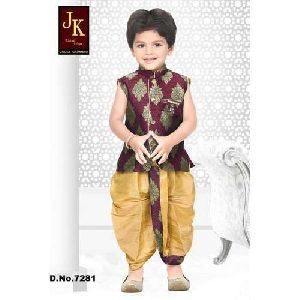 Traditional Kids Dhoti Suits