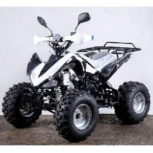 White Quad Bike