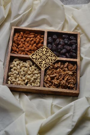 Wooden Dry Fruit Tray