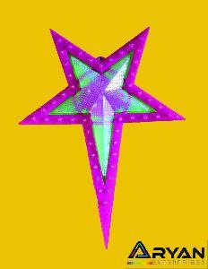 Pink Christmas Star