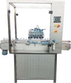 Semi Automatic Air Jet Vacuum Cleaning Machine
