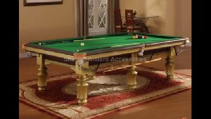 Gold Pool Table