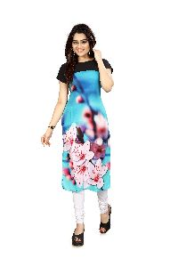 ETC VOL-27-45 Designer Printed Kurtis