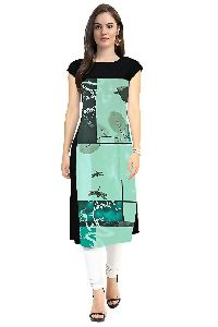 ETC VOL-4-18 Designer Printed Kurtis